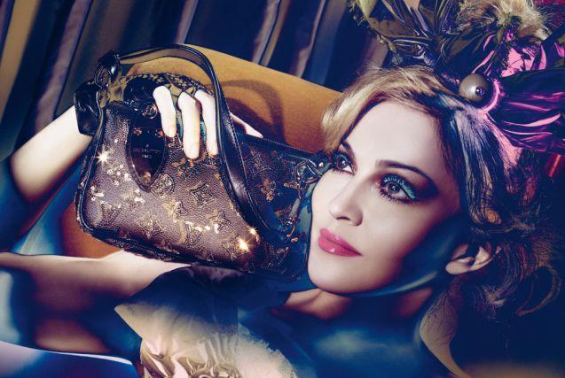 Madonna opět tváří Louis Vuitton! (www.luxurymag.cz)