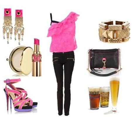 Inspirace: Oblečení na party 2010 (www.luxurymag.cz)