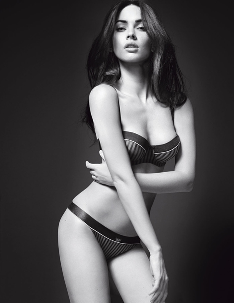 Sexy Megan Fox v kampani Emporio Armani (www.luxurymag.cz)