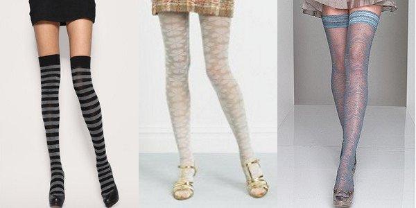 Barevné punčochy a punčocháče jsou stále in! (www.luxurymag.cz)