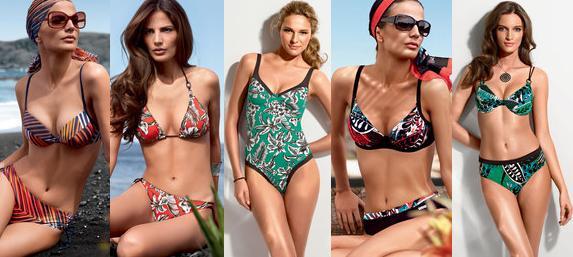 Triumfální plavky Triumph pro léto 2010 (www.luxurymag.cz)