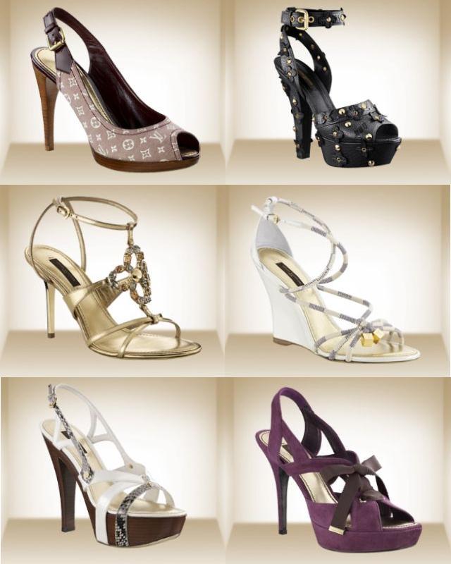 Boty Louis Vuitton v roce 2010 – podpatky i tenisky (www.luxurymag.cz)