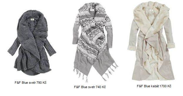 F&F Blue vás s kolekcí Bedouin v zimě nejen moderně oblékne, ale i pořádně zahřeje (www.luxurymag.cz)